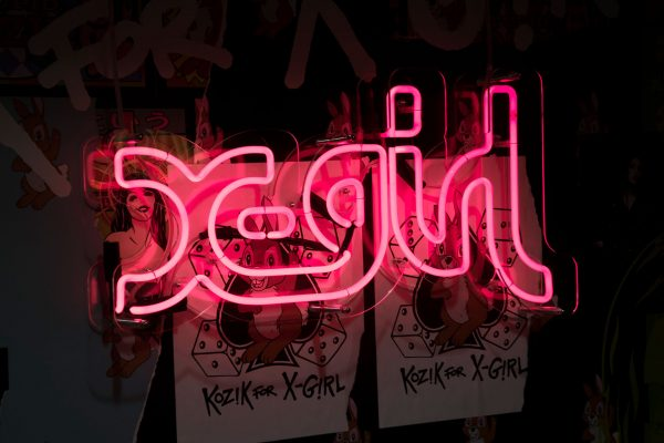 X-Girl x DSM London –  Pop-up Installation